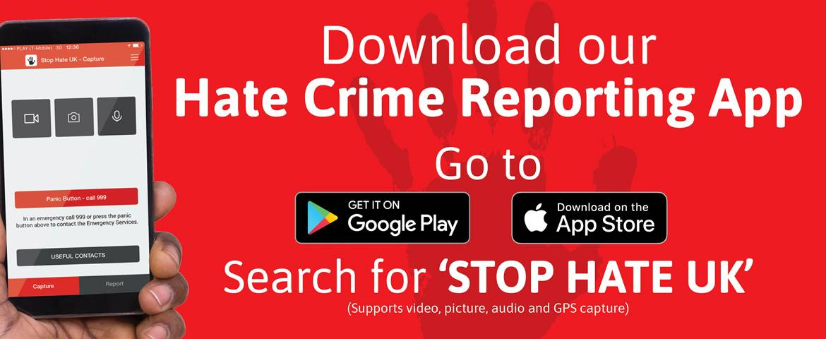 New Hate Crime reporting app launched