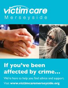 Victim Care Merseyside banner