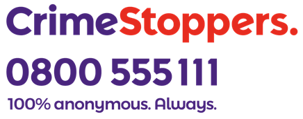 Crimestoppers 0800 555 111